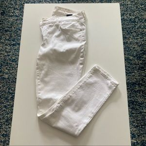 7 For All Mankind White Jeans, Size 31
